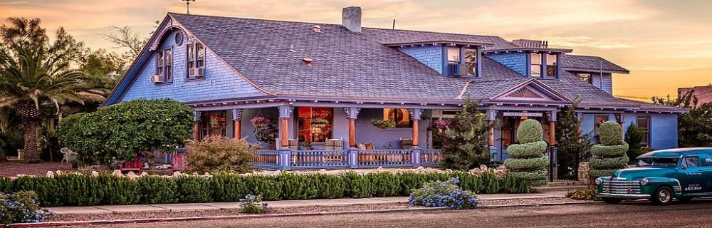 The Big Blue House Tucson Boutique Inn