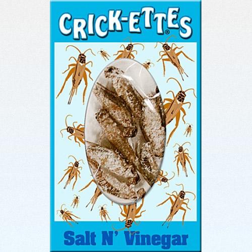 Al eats crickets