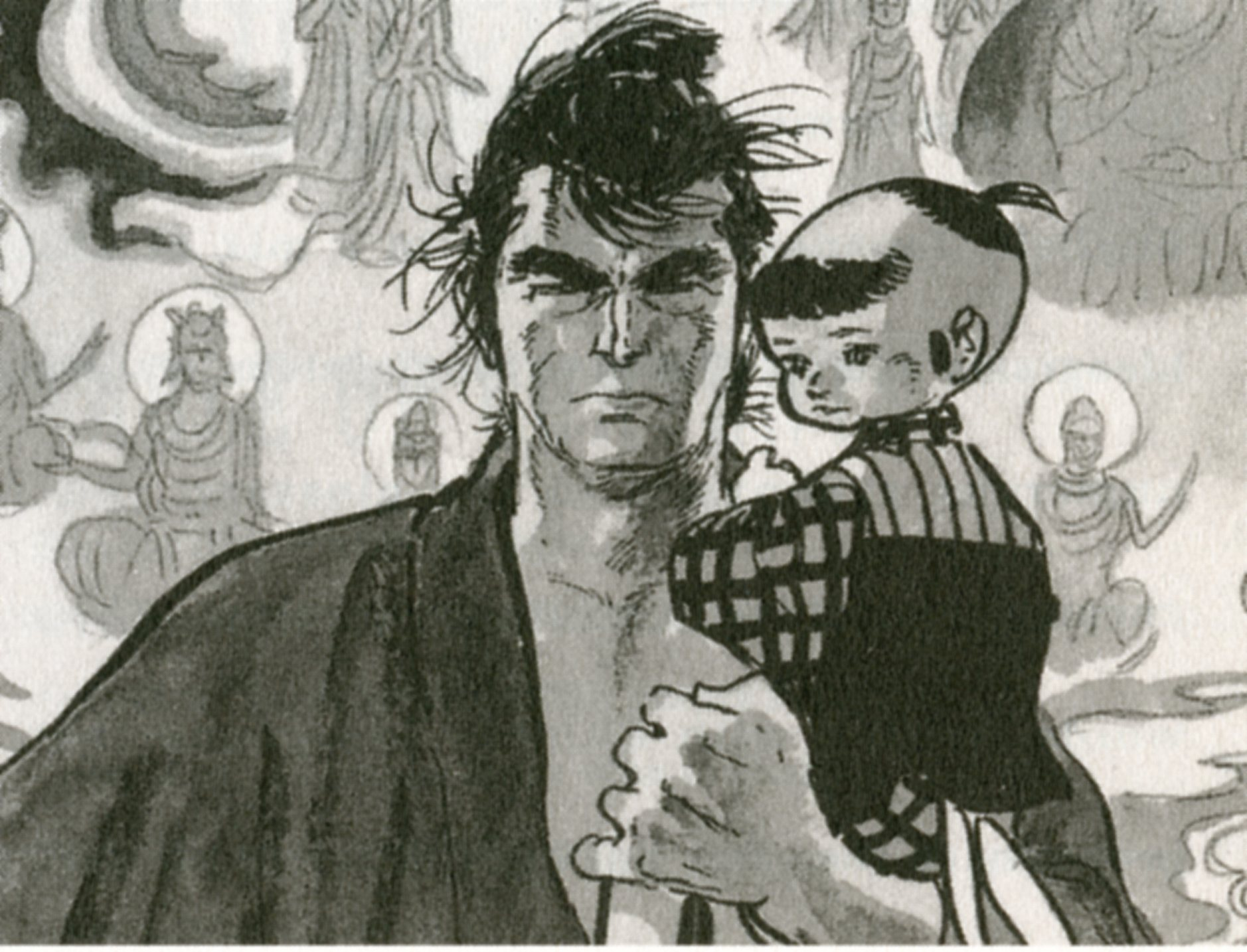 Ogami and Daigoro Itto