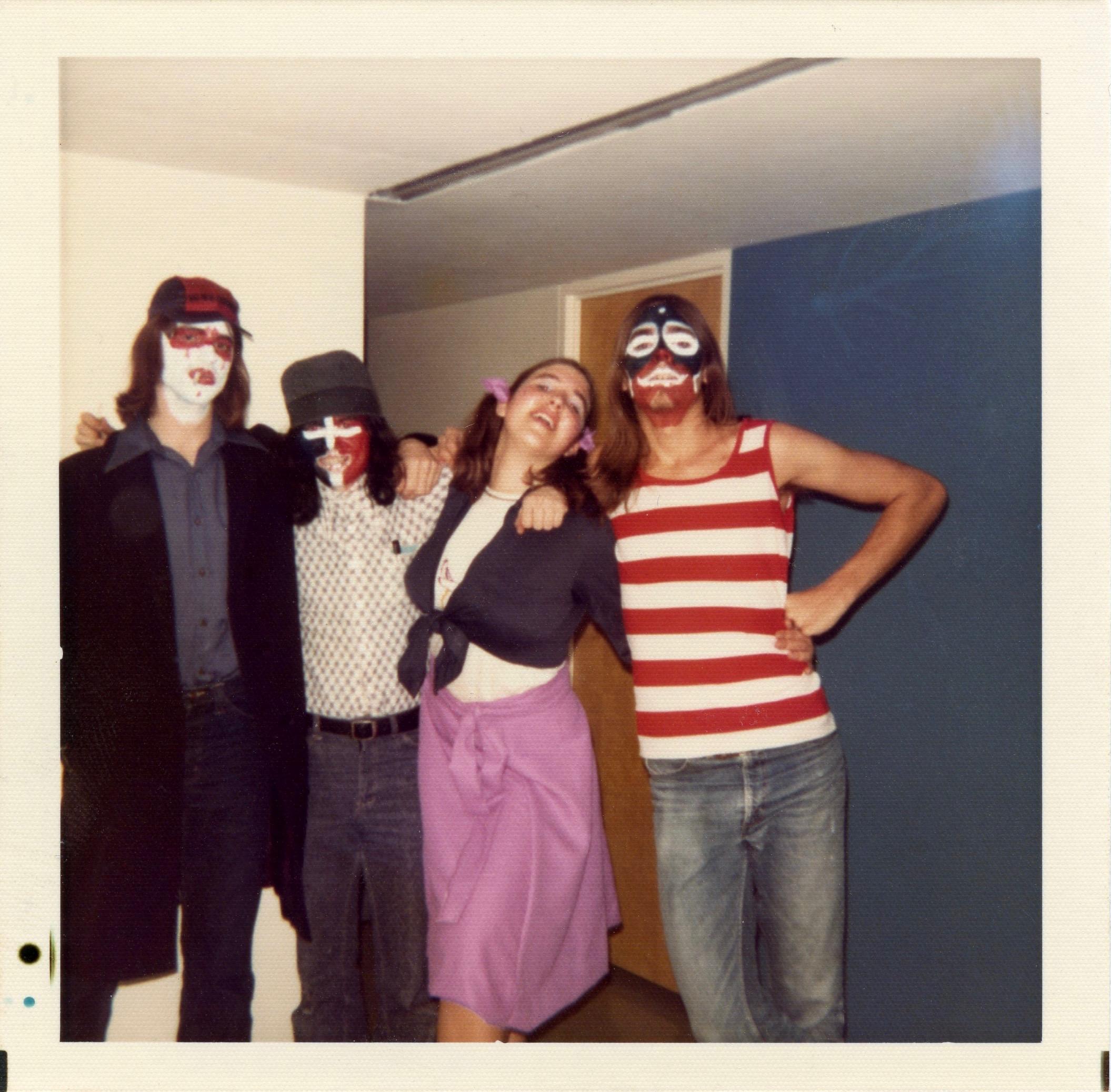 RJ, Don, Loretta, Keith in Lethbridge, c. 1975