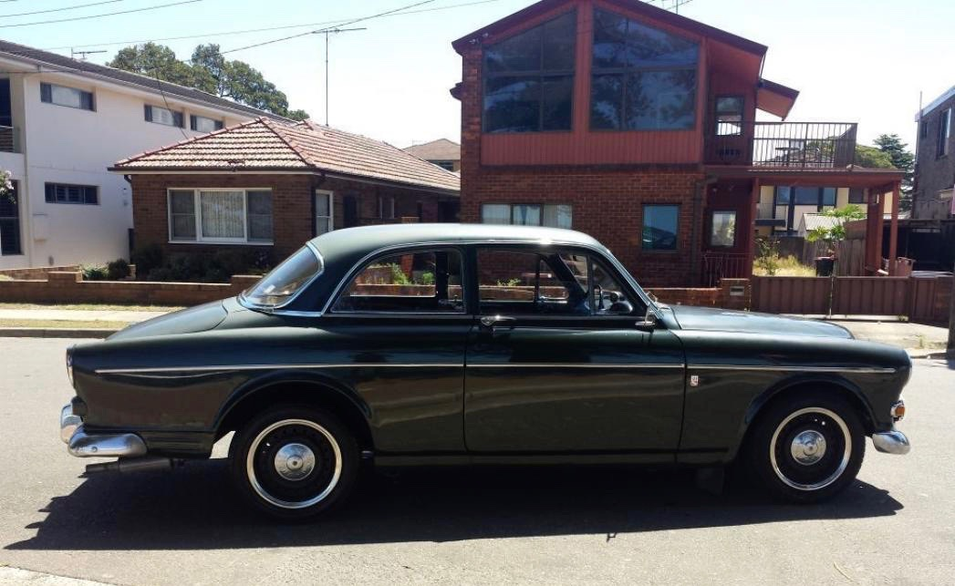 1969 Volvo 122S (not PJs but the same)