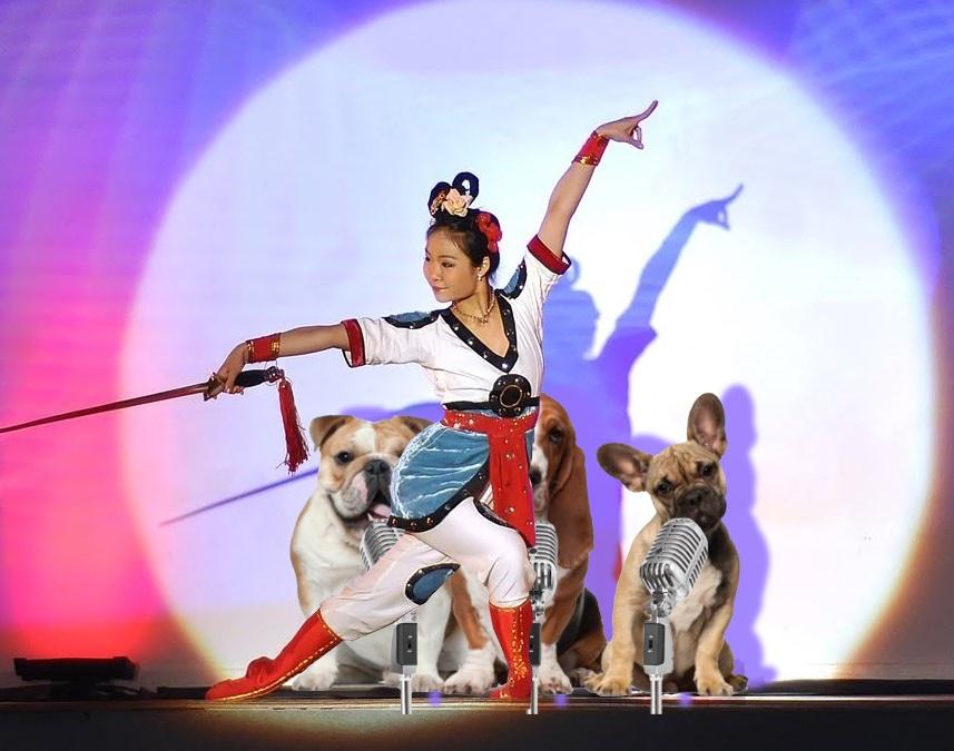 Dance, dogs, dance!