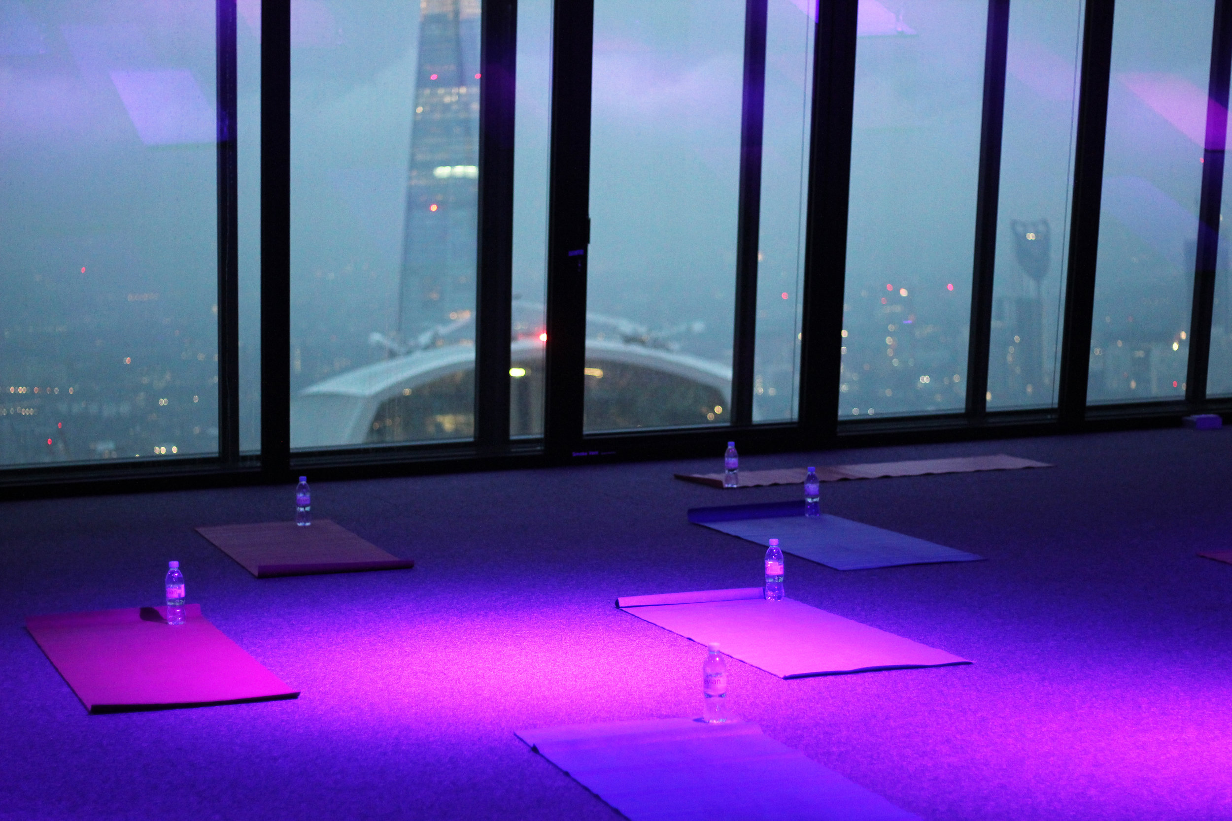 Flex in the Sky (Monthly)18:45 - 20:00@ Landing42Our monthly residency at Landing42 of the The Leadenhall Building.75 mins of open level dynamic vinyasa flow as we watch the sun go down over the city. -