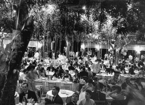 Cocoanut Grove, Ambassador Hotel. Hollywood, California.