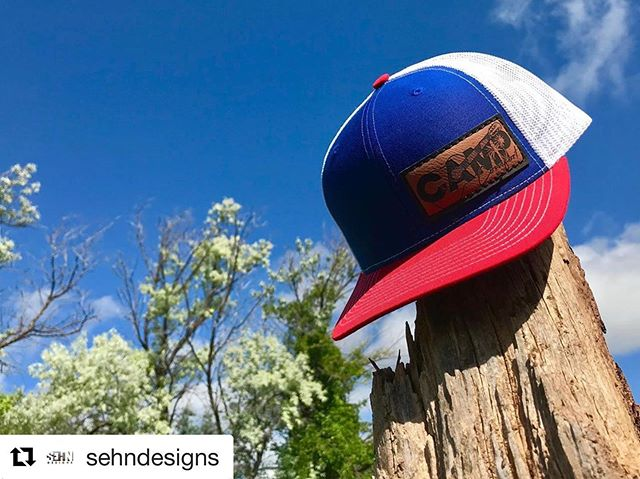 #Repost @sehndesigns ・・・ Just in case you didn't get enough red, white, and blue in your life, there will only be a couple of these styles @campcomfortmusic hats available at the brewery tonight!  #campcomfortmusic #sawyerbrewingco #craftbeer #brewery #local #blackhills #southdakota #goodvibesonly #sehndesigns #scopeearthhonornature #originalmusic #rootsrockandraggae
