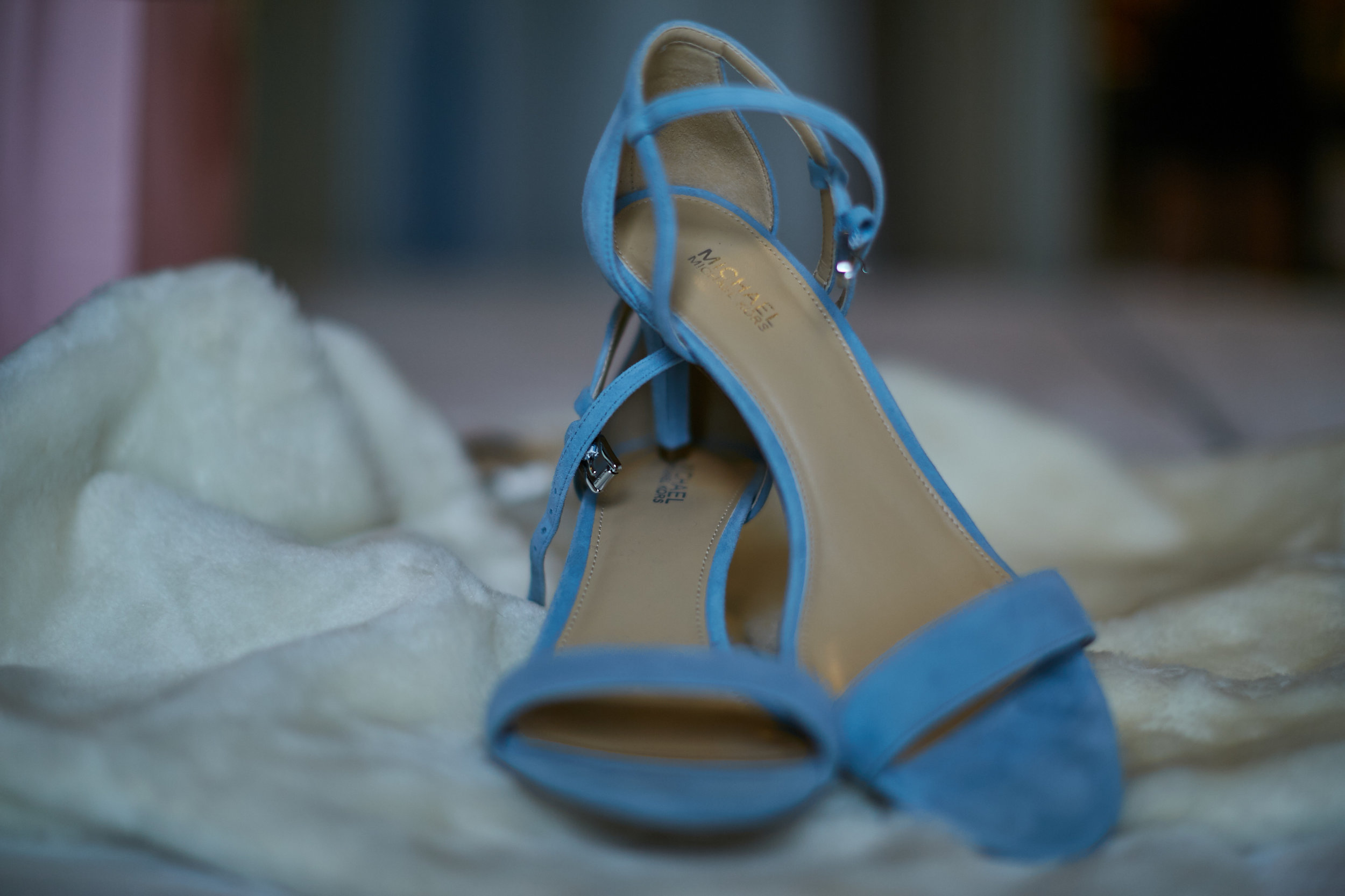 something blue suede shoes fur wedding shoes
