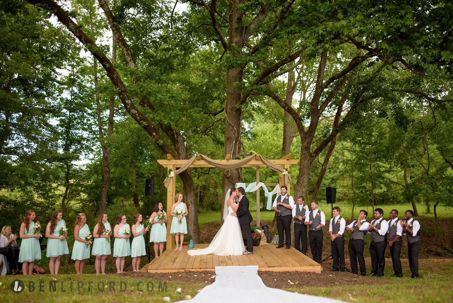 Elizabeth Dalton Wedding Wallnut Hill Farms Jefferson Georgia