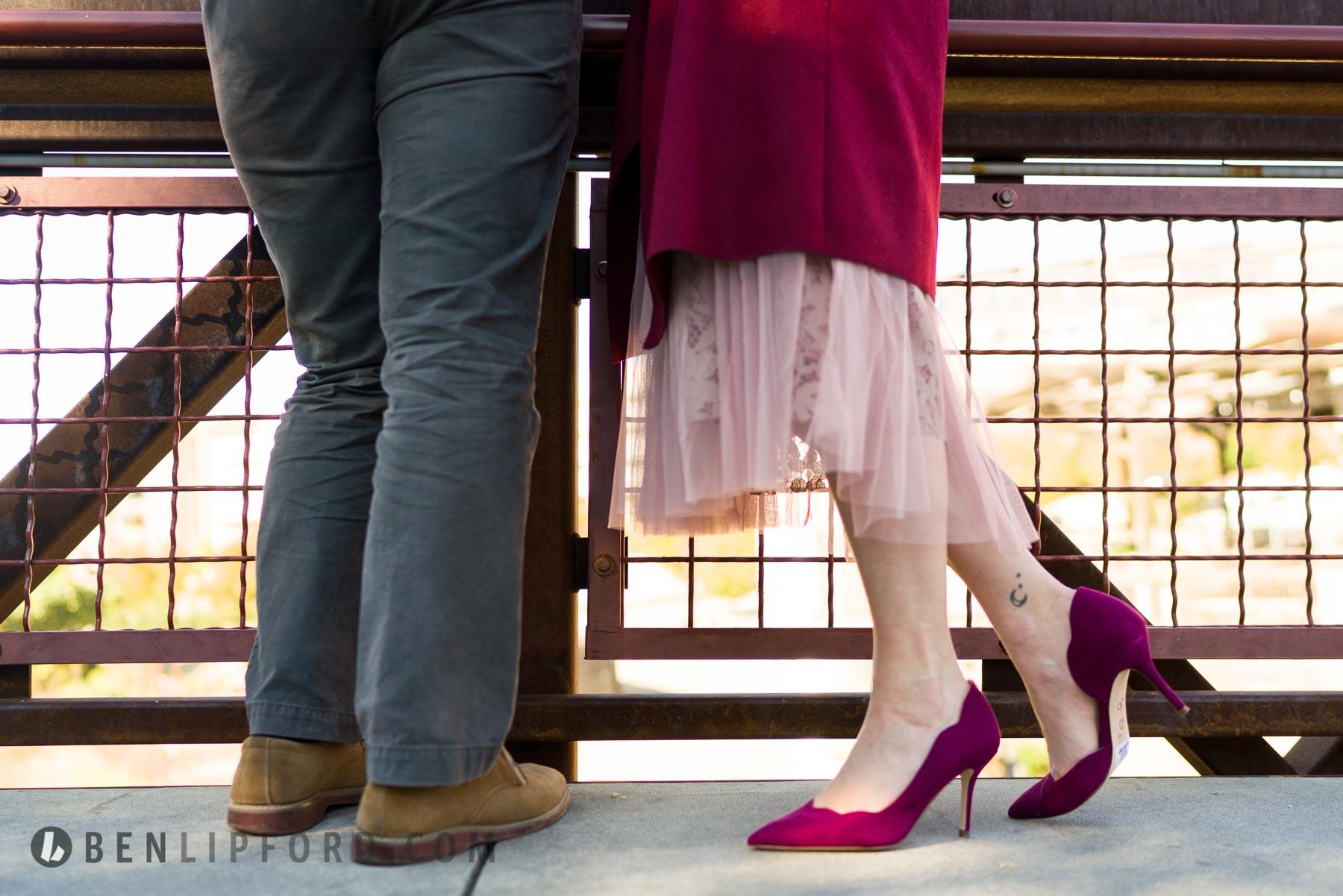 Katie Ben Engagement Westside Provisions Atlanta Georgia