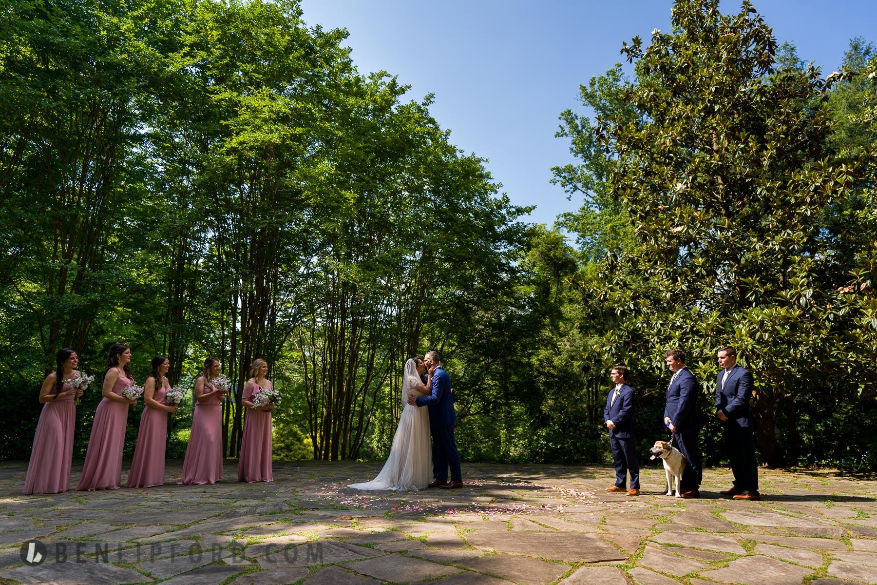 Angie Jonathan wedding Dunaway Gardens Newnan Georgia