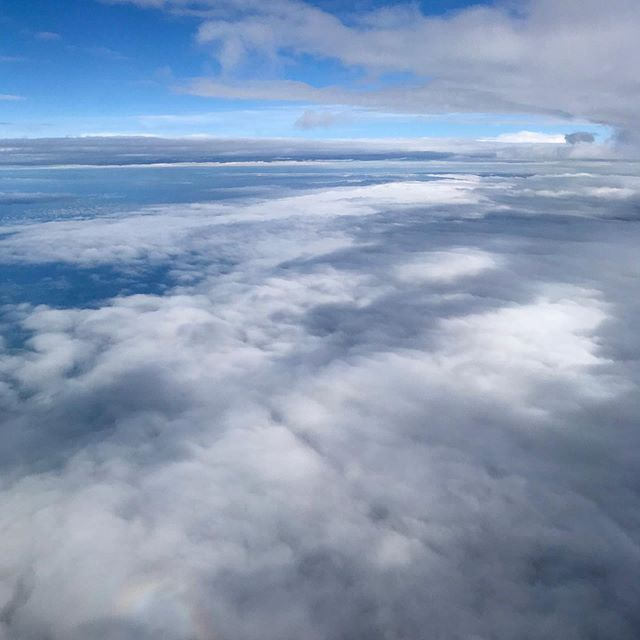 Cloudscapes outside the airplane window. . . #planewindow #planeview #airplanewindow #inthesky #fromtheair #viewfromtheplane #intheclouds #overtheclouds #abovetheclouds #clouds☁️