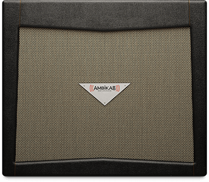 Komet Ambikab   AmbiKab innovation provides a unique solution to the age old problem of applying ambient, time-based effects to an amplifier's sound without degrading the original sound in any way.