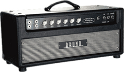 Bruno Pony 50   The Bruno Pony 50 is British Plexi sound taken to it's finest with gobs of tone. This amp rocks with a superb British voice that has balanced midrange detail, warm fat complexity and sensational dynamics.