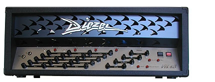 Diezel VH4S   The iconic, first Diezel amp. Still made the exact same way as in 1992, the VH4 revolutionized the industry with its 4-Channel and individual inserts design.IN STEREO