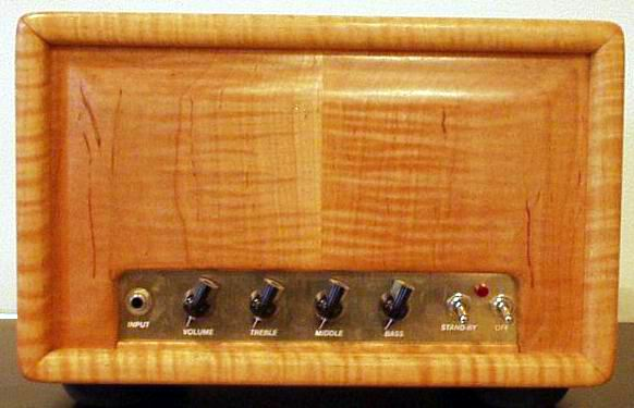Alessandro Blue Tick   The Alessandro Blue Tick is an amazing 4 x 6V6 amp running in Class-A mode, with a 2 x 6SL7 octal preamp.