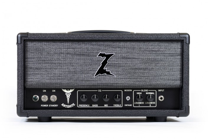 "Dr.Z Antidote   ""This simple major league amp has the sweetest top end and a tight musical low end. Once you plug in you can't stop playing"" – Dr. Z"