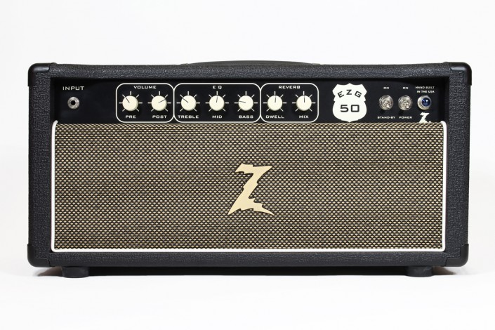 "Dr.Z EZG-50   ""My Spin on the blackface reverb head that never was."" – Dr. Z"