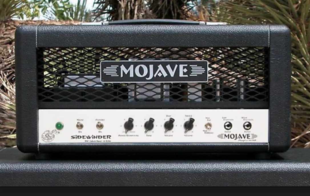 Mojave Sidewinder   The SideWinder is built with a 30 watt power amplifier offering a greater degree of clean headroom for the player who requires as much in dynamic range as they do in great tone.