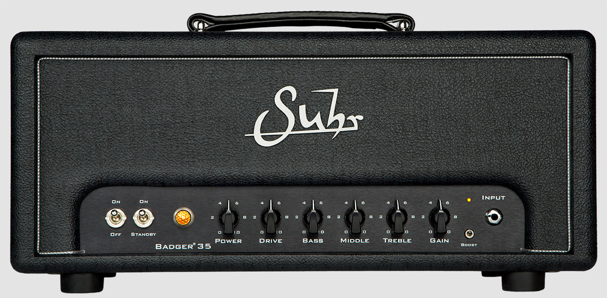 Suhr Badger   offer players a vast array of classic British tones and would fit right at home in virtually any recording or live performance environment.