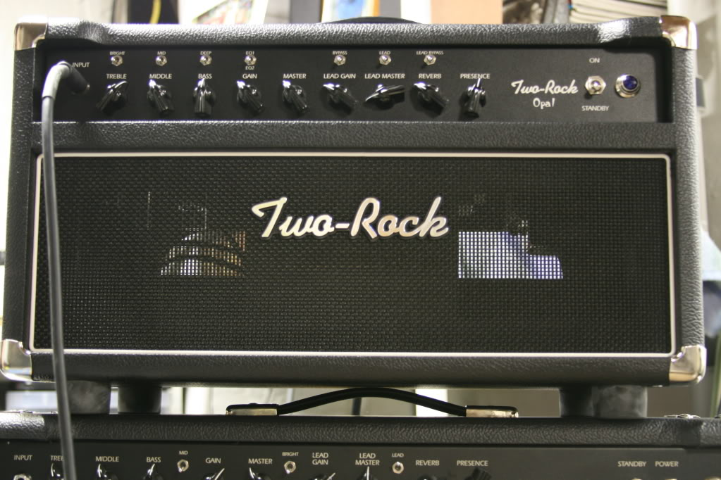 Two Rock Opal   This amp is extremely dynamic, featuring a very fast response, incredible touch sensitivity, and famous Two-Rock tonal versatility for the discriminating artist and weekend warrior/tone freak alike!
