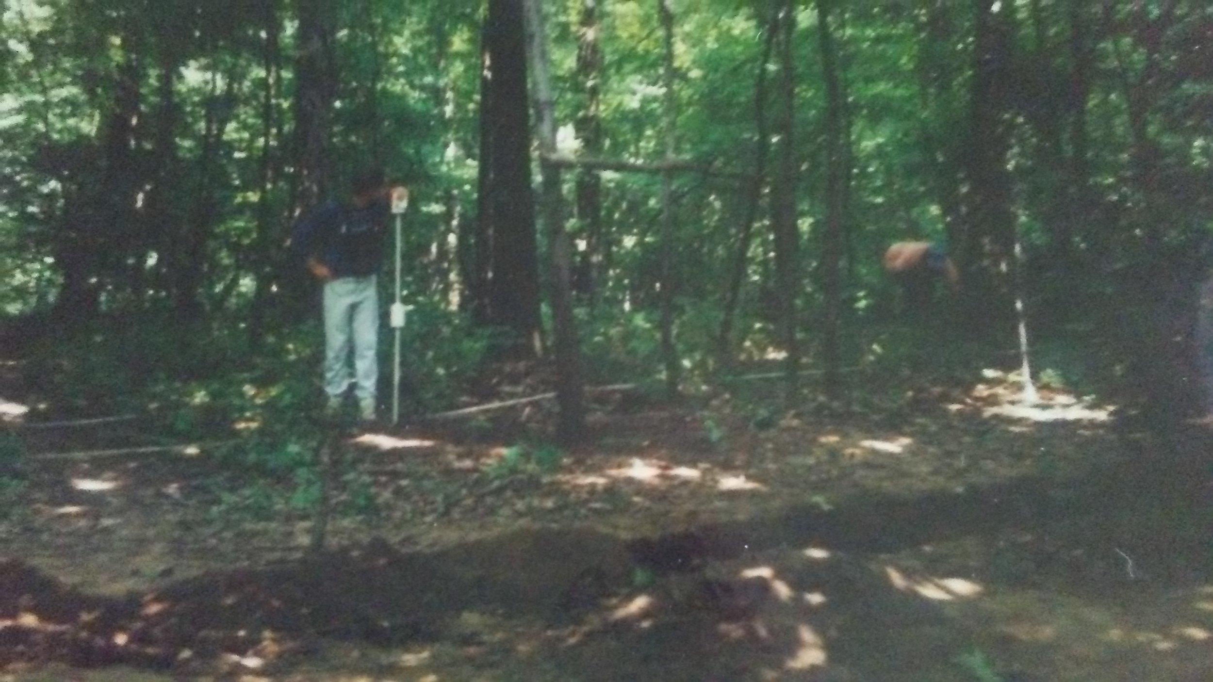 Seaman's Fort site survey 1989