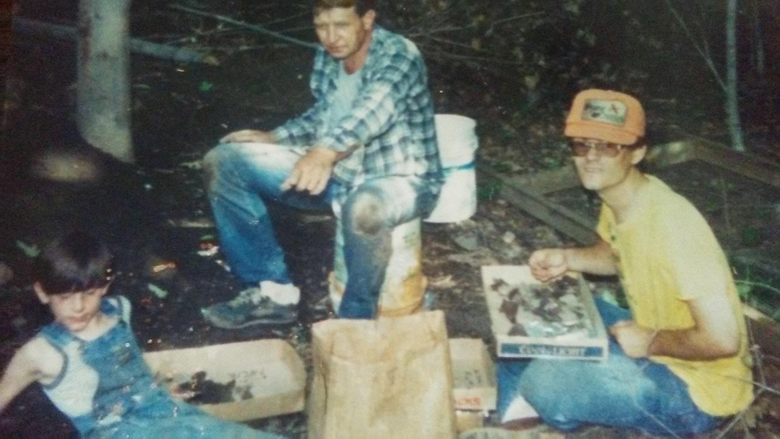 TJ Edwards, Les Gerkin, and Dr. Jeb Bowen circa 1989