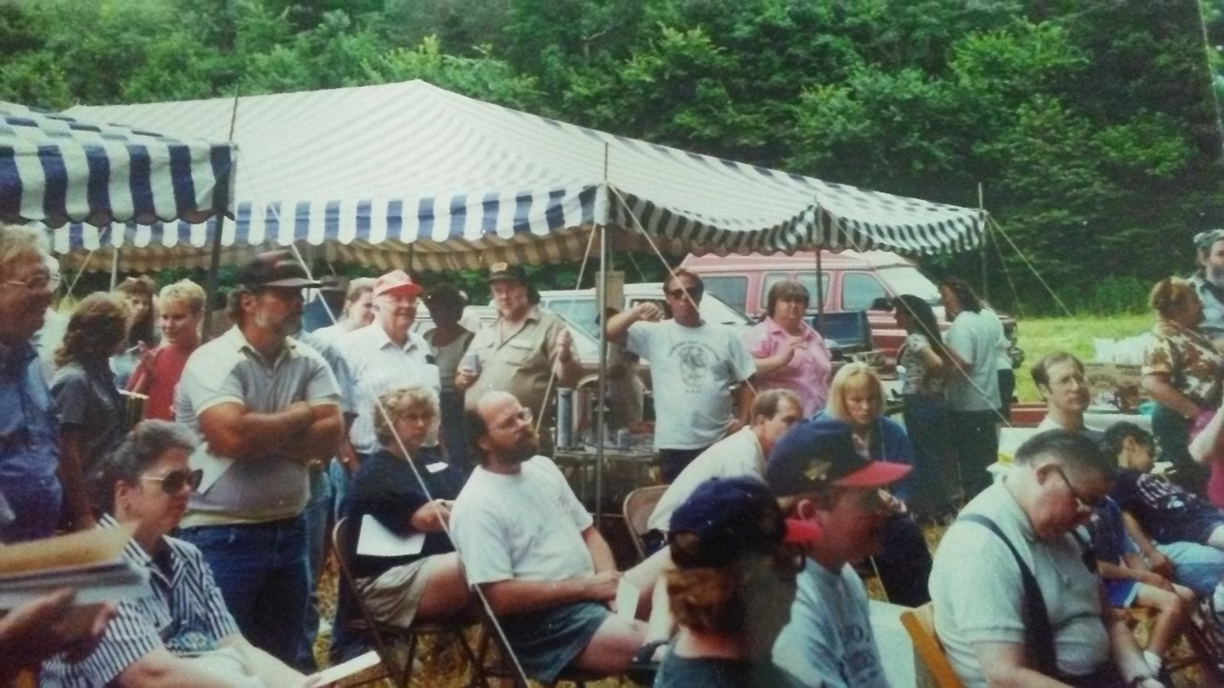 The 1st chapter picnic at Seaman's Fort