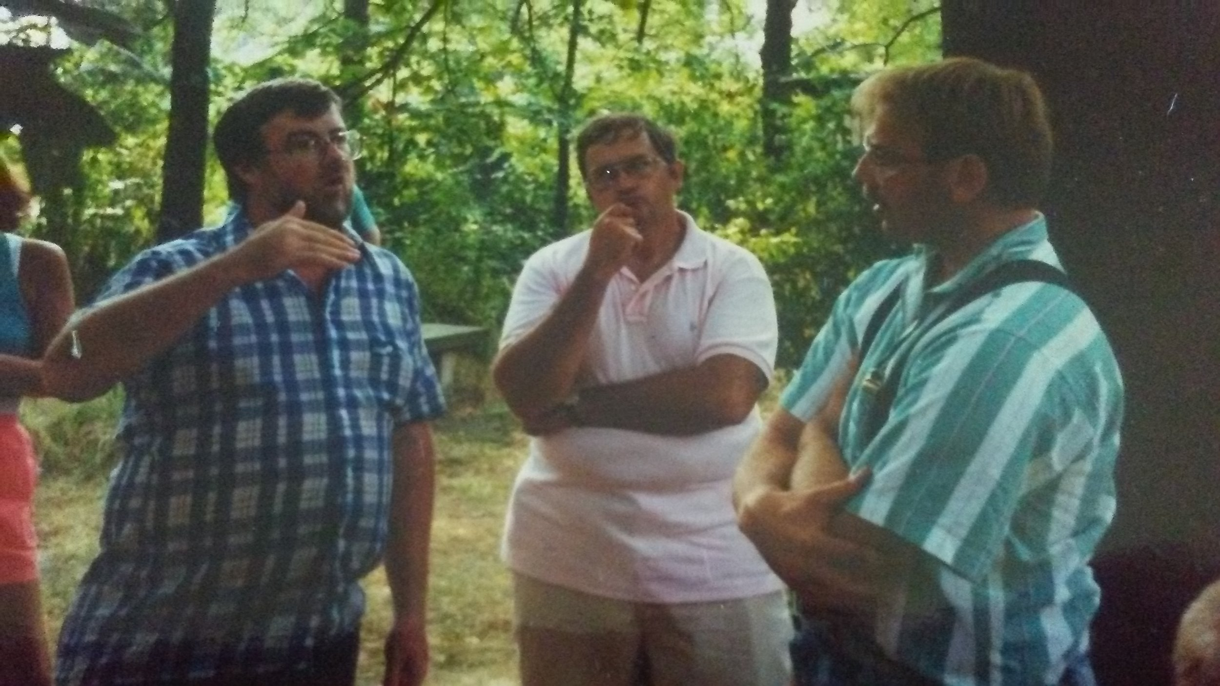 Dr. Dave Stuthers, George Demuth, and Bill Young