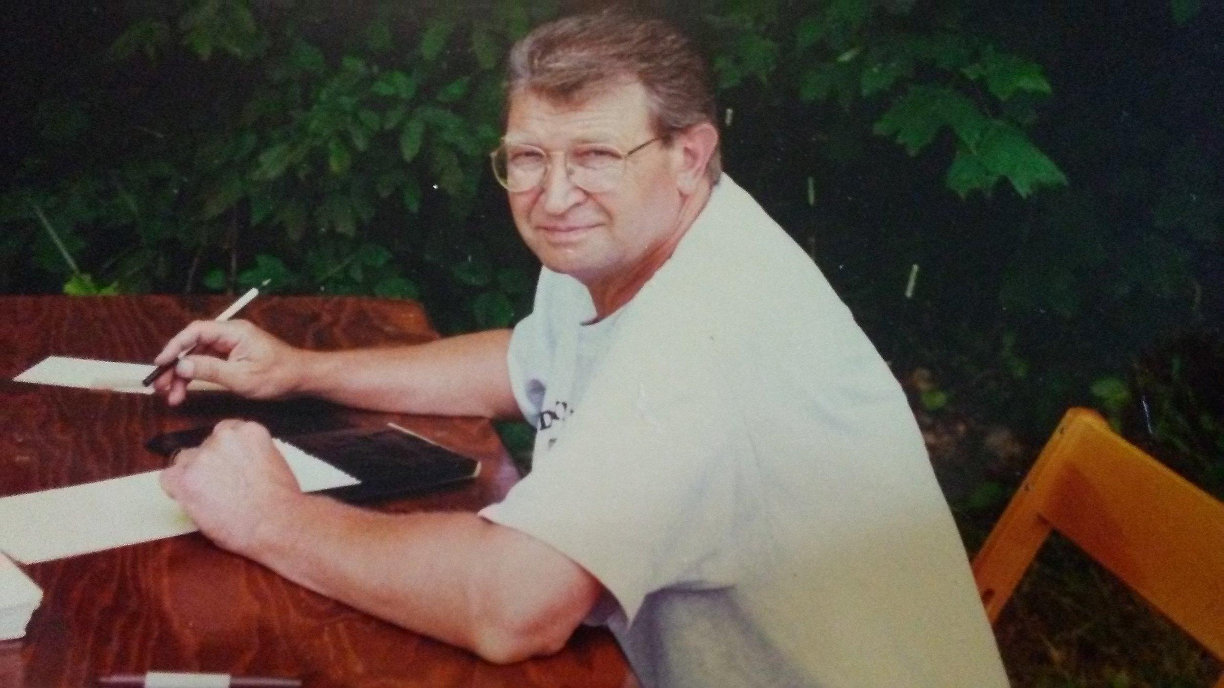 Former Chapter Treasurer, Les Gerkin 1991