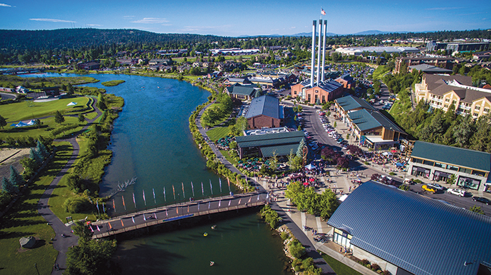 Bend and Old Mill District, shopping, restaurants, beer pubs...
