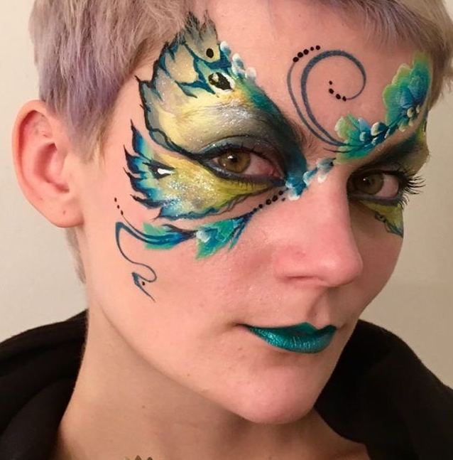 Beautiful butterfly face paint for adults by brierley thorpe.PNG