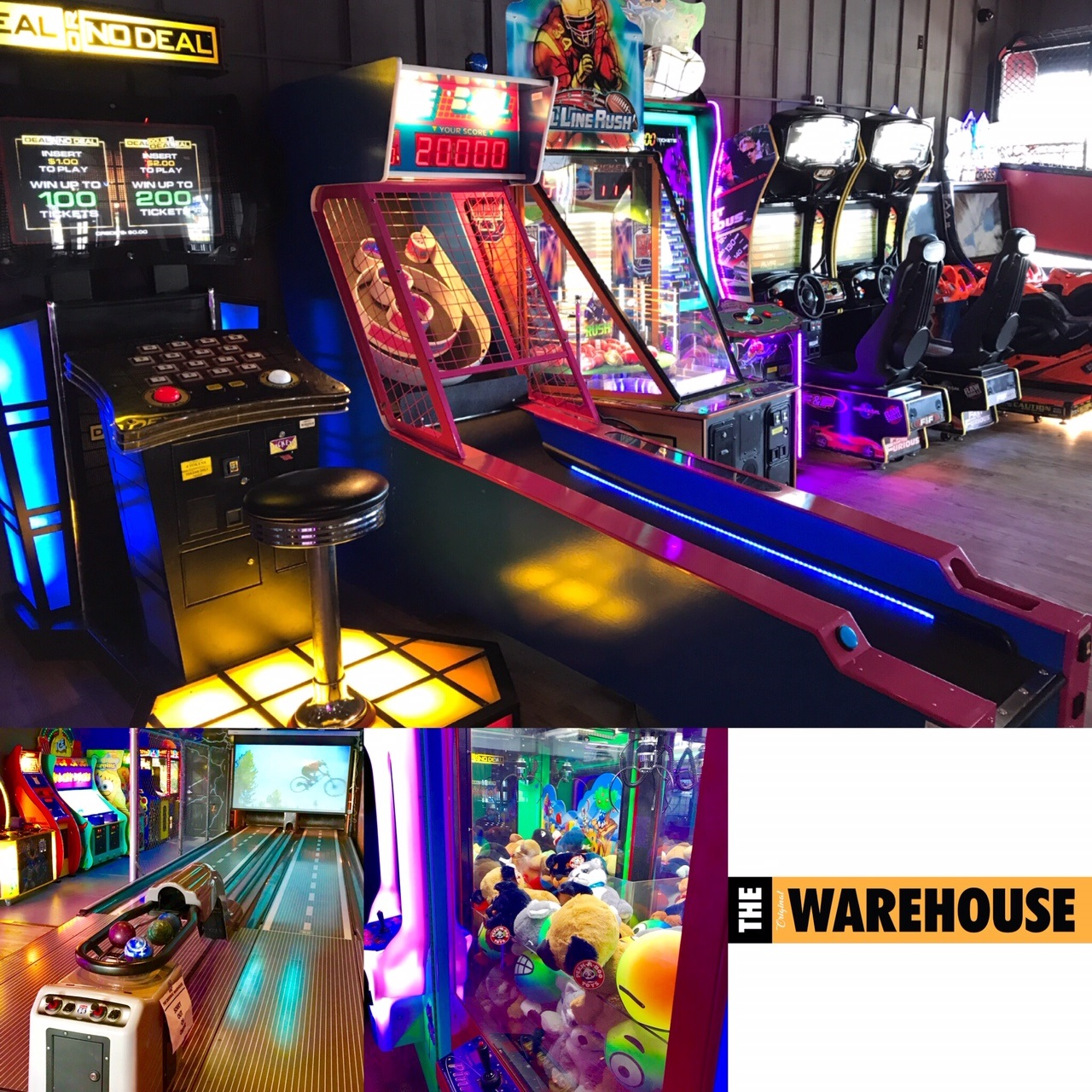 Bring your Family and Friends to come Play at our Video Game arcade with prize redemption machine and he Southtown's only Mini-Bowling Alley that is fun for all ages !