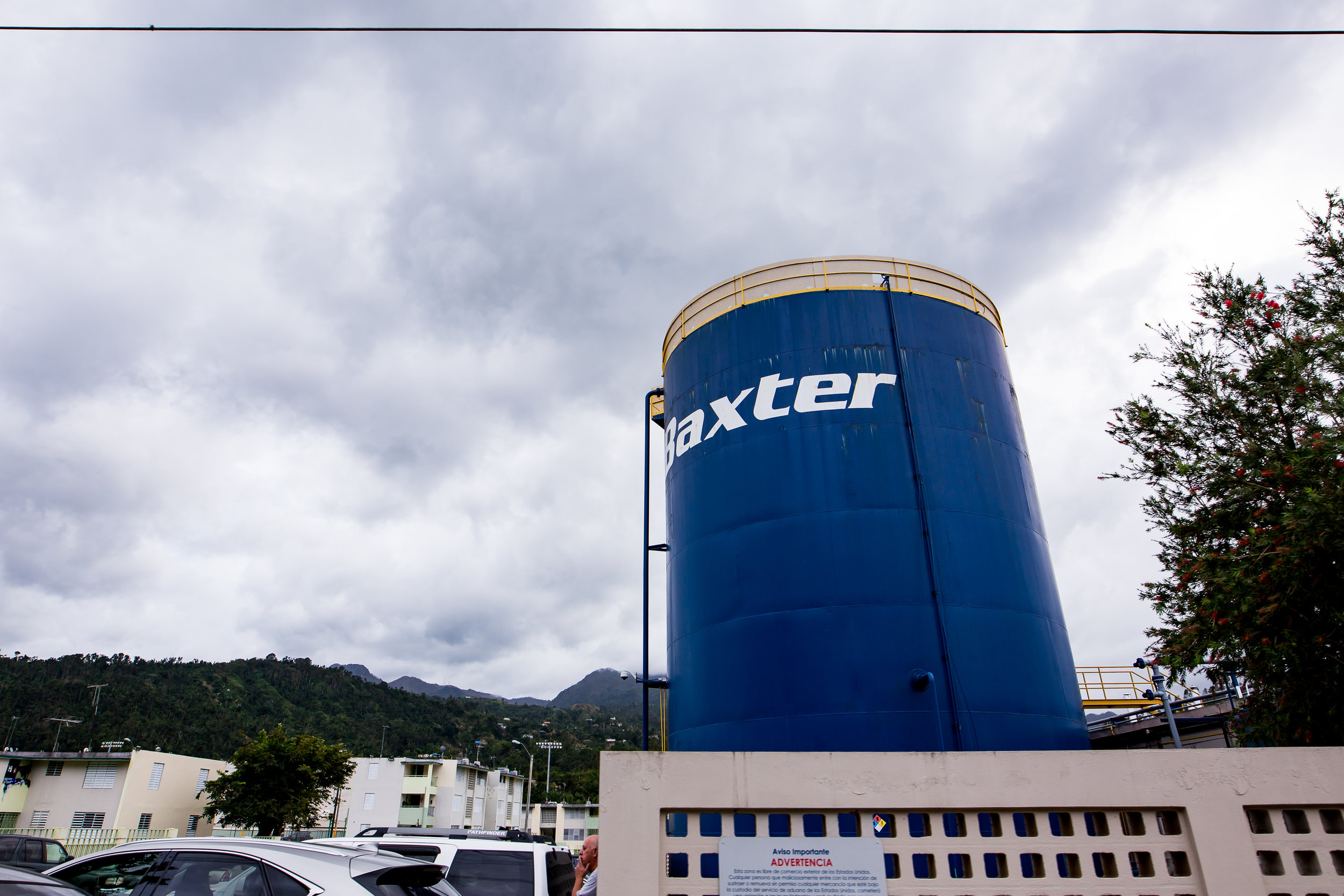 Baxter's water