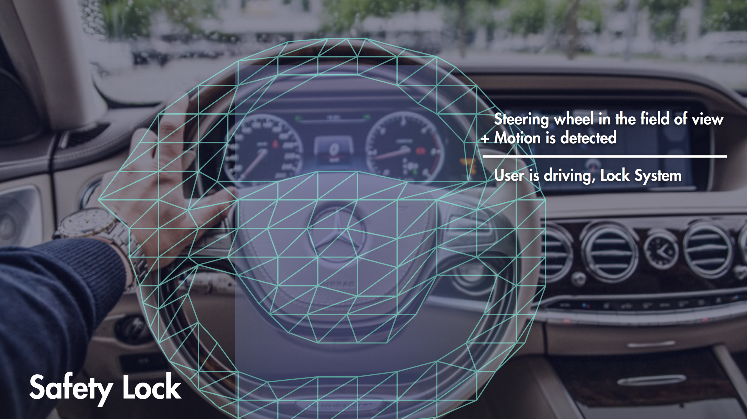 SAFETY LOCK - If user is in dangerous situations such as driving or is viewing fictional content such as watching a movie, Kioku will identify these contexts and not display any moment notification.
