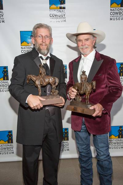 Director Ken Spurgeon with film star Buck Taylor