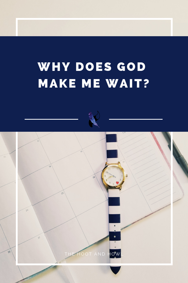 Waiting sucks. But it sure happens a lot. Is there a purpose in waiting beyond reaching the end goal?