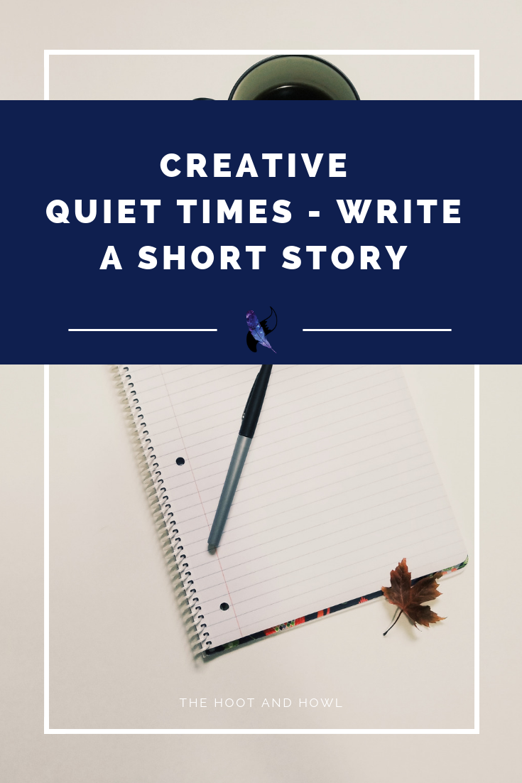 Looking for a creative way to get into your Bible? Try writing a short story! Includes prompts and ideas to get you started.