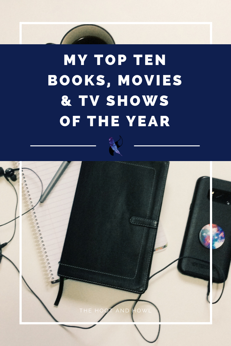 Looking for some book, movie, or TV recommendations? Here are my top 10 favourites of the year!