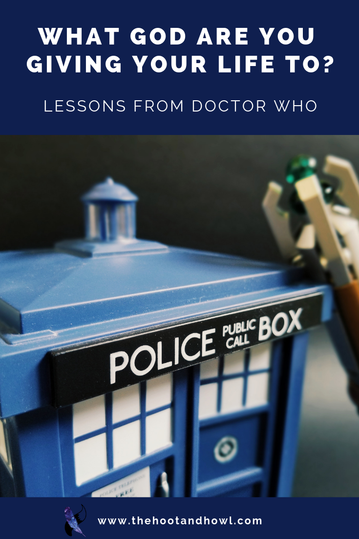 We make things into false gods by allowing them to consume us. Do you know what god you're giving your life to? Things we can learn about following God from Doctor Who: Rings of Akhaten.