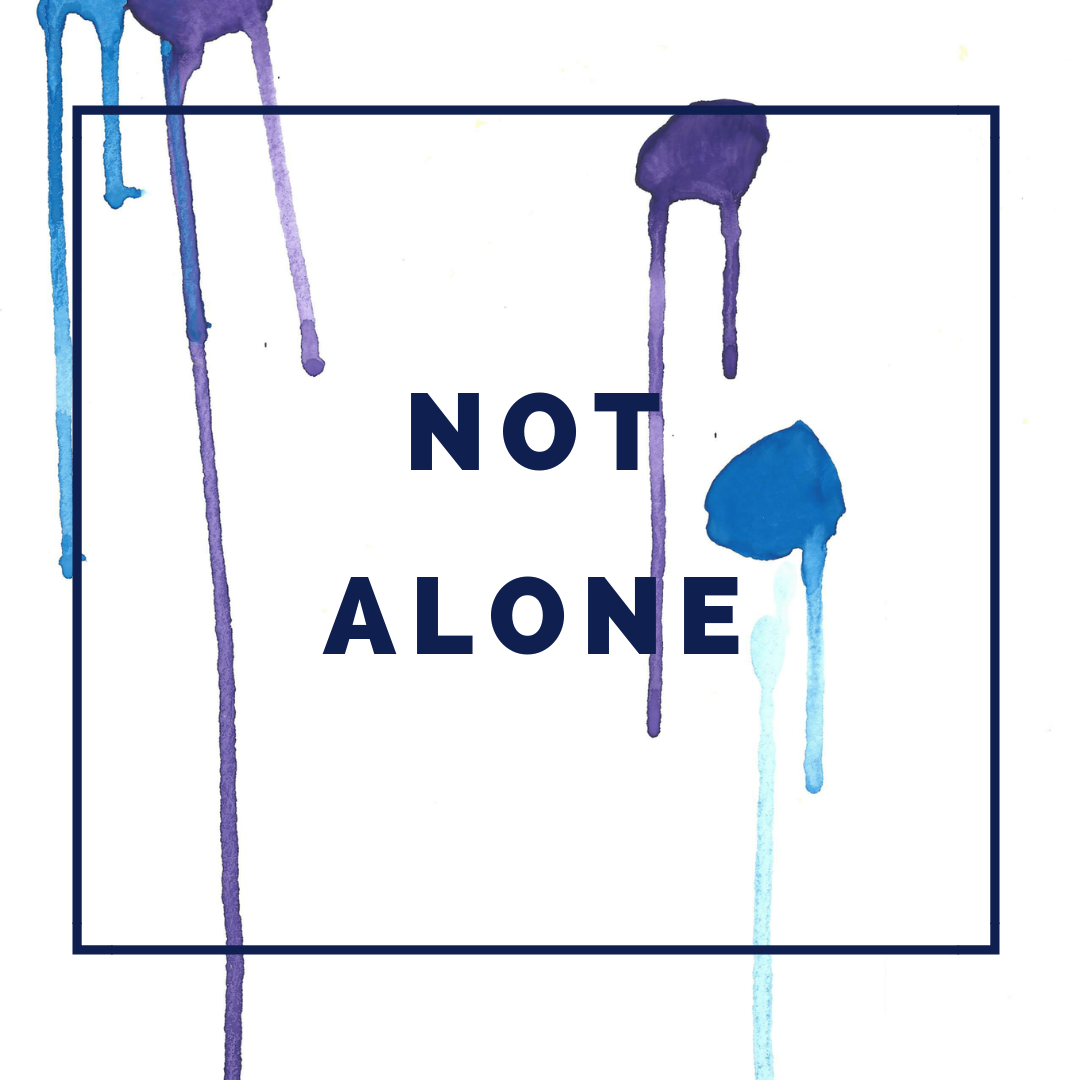 Not Alone Bible Plan - 30 Day Bible Reading PlanShort passages perfect for reflection, scripture writing, Bible journaling, and more. A plan for when you feel alone, rejected, and forgotten.