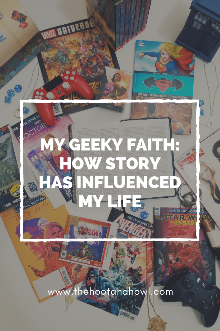Geek things are fun, but how important are they really? See how faith and fandom intersect in my life.