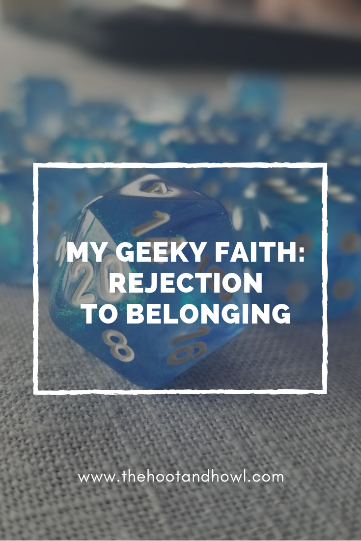We can experience a lot of rejection for our interests and our faith. Read the story of someone who has found belonging in geek culture and Jesus.