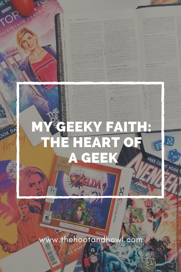 He was put down for being a geek, but now he's not only living an unashamed geeky life, he's living his geeky life for Jesus wholeheartedly!