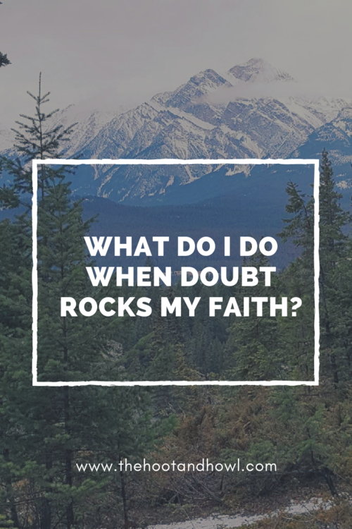 What can you do when doubt threatens your faith? Are doubts and questions inevitably going to destroy your beliefs or is it possible for them to make your faith stronger?
