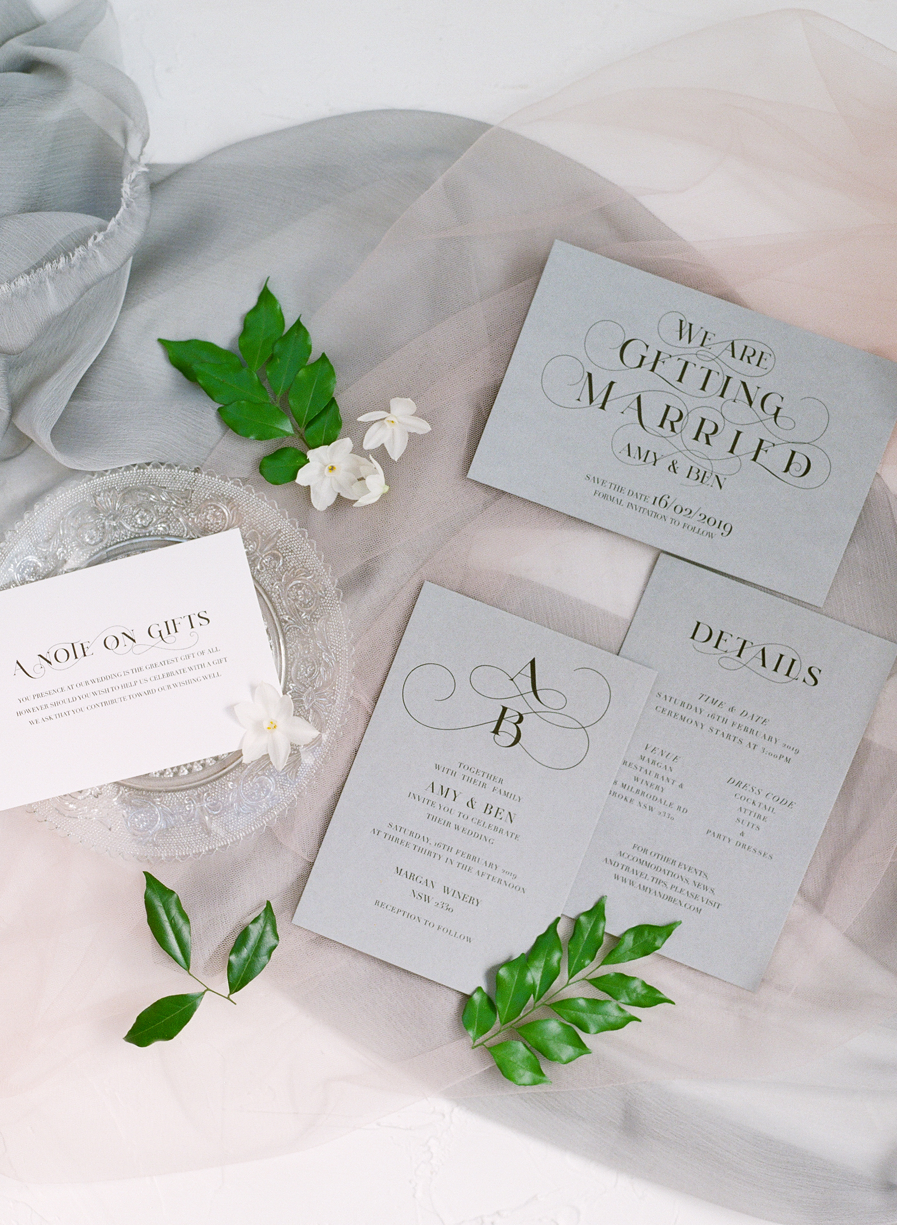 Love T   Love T will be made just for you! This design features the love for typography. If you are like us who loves simplicity and elegant, this is your wedding invitation! The paper stock has such hight quality it will make your invite stands out. Foil printing and this design are match made in heaven.