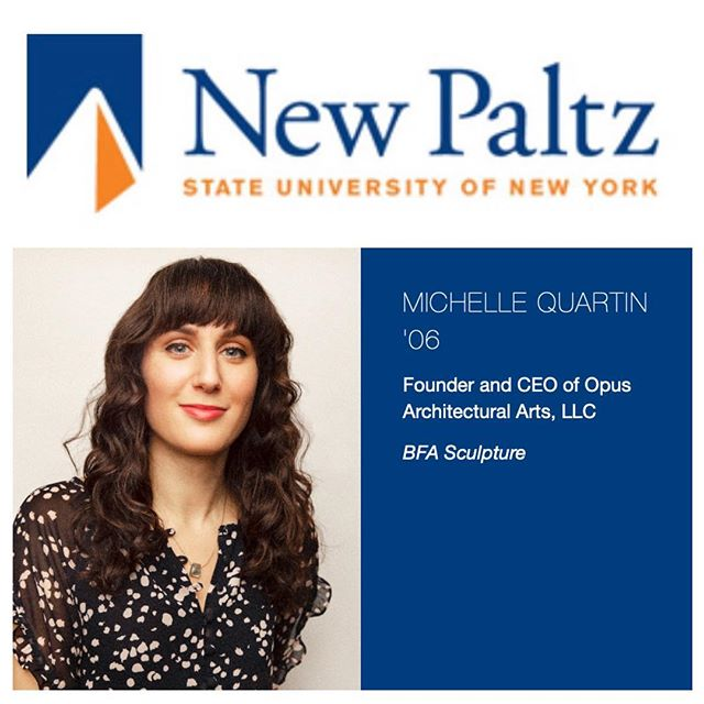 Honored to be chosen as one of the 40 alumni finalists of the 2019 40 Under Forty awards! #npalumni #newpaltz #sunynewpaltz #newpaltzsculpture #hudsonvalley