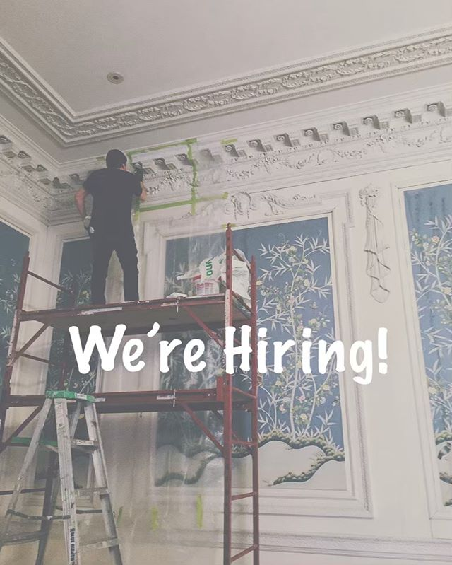 Come join our team as a Restoration Artisan! Seeking classically trained artists and craftsmen to perform high quality work in restoring architectural elements.  Job requirements entail great attention to detail, patience with a keen eye and steady hands, proficiency in color matching and knowledge of tools and materials.  This is a professional work setting on exterior and interior job sites - mostly on buildings. Must be comfortable with heights (scaffolds/lifts/ladders), varying climate conditions, construction sites and getting dirty. Should be physically fit and healthy.  Please submit a cover letter, current resume and art portfolio to michelle@opusarchitecturalarts.com #nowhiring #buildingpreservation #nycrestoration #nycartisans #restoration #jobopportunity