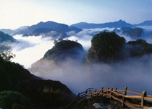 Wuyi Mountains of Fujian, China