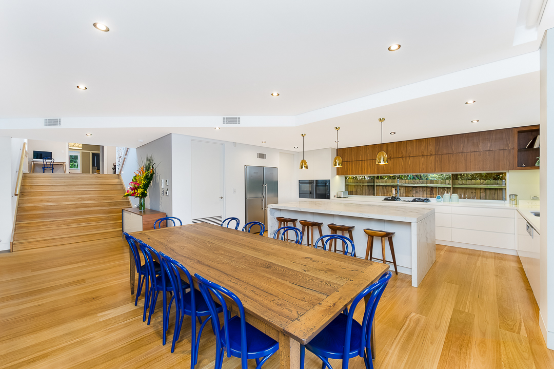 Photo of dining and kitchen taken by Shutter Speed Studios