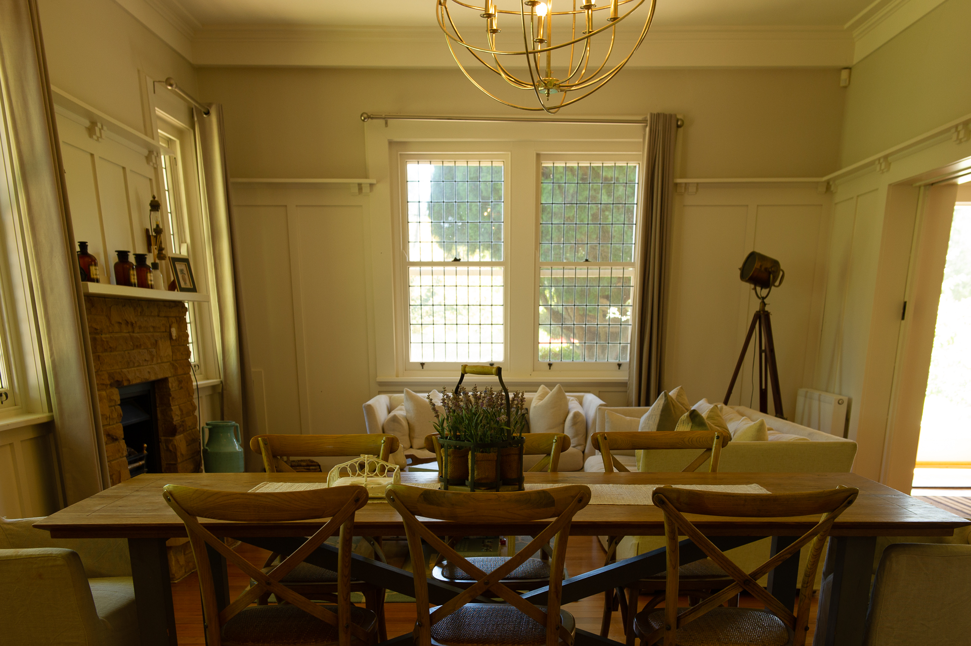 Photo of dining room taken by owner
