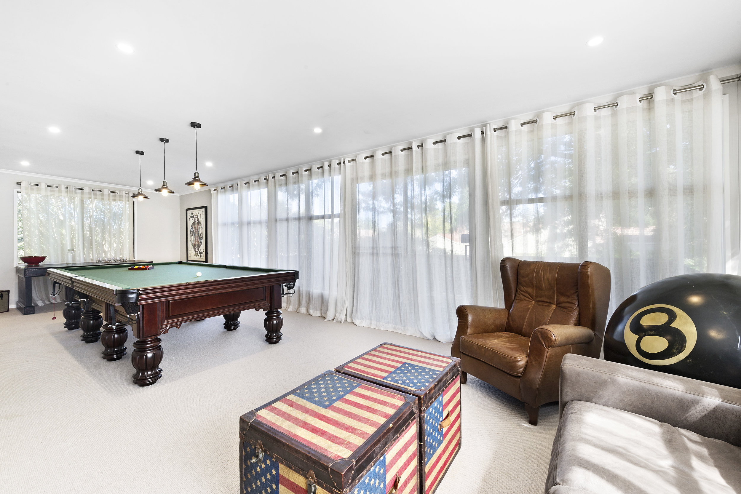Photo of games room taken by Shutter Speed Studios